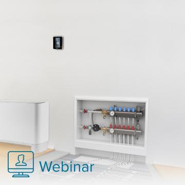 Como fazer a regulação e controlo de uma instalação de piso radiante com o RadianT365